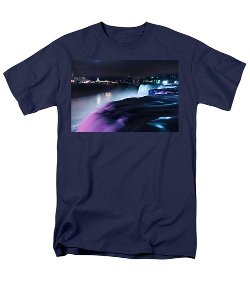 Men's T-Shirt  (Regular Fit) featuring the photograph Light Show by Mihai Andritoiu