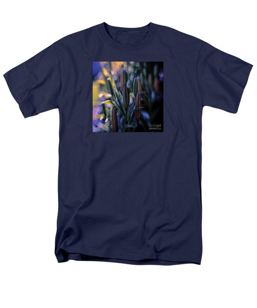 Lily Light Men's T-Shirt  (Regular Fit) by Jean OKeeffe Macro Abundance Art