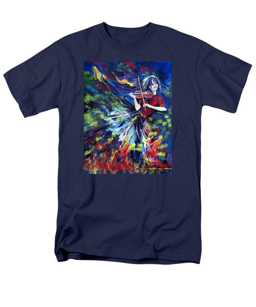 Lindsey Stirling. Dancing Violinist Men's T-Shirt  (Regular Fit) by Anna  Duyunova