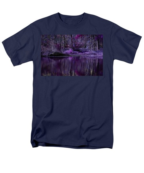 Living In A Purple Dream Men's T-Shirt  (Regular Fit) by Linda Unger