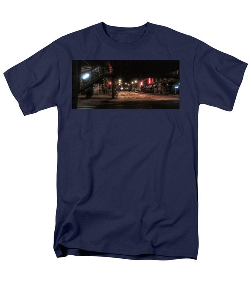 Looking East From Wabash Men's T-Shirt  (Regular Fit) by Nick Heap