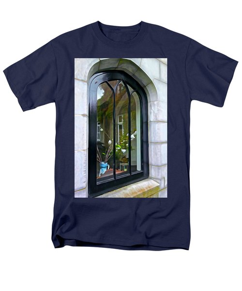 Men's T-Shirt  (Regular Fit) featuring the photograph Looking In by Charlie and Norma Brock