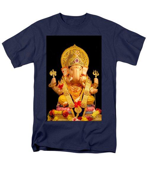 Lord Ganesha Men's T-Shirt  (Regular Fit) by Kiran Joshi