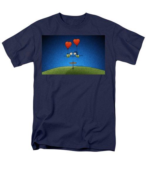 Love Beyond Boundaries Men's T-Shirt  (Regular Fit) by Gianfranco Weiss