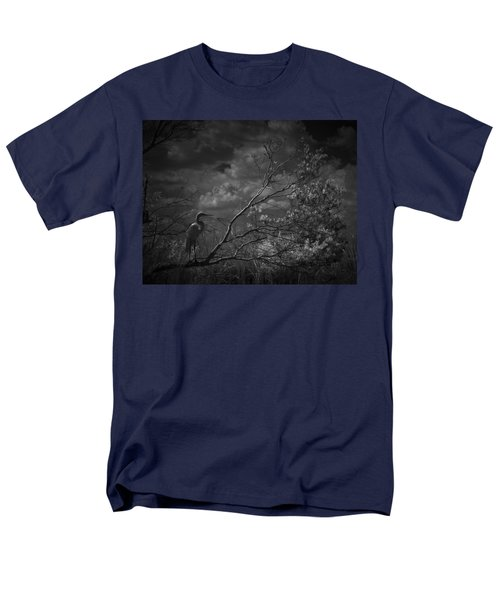 Loxahatchee Heron At Sunset Men's T-Shirt  (Regular Fit) by Bradley R Youngberg