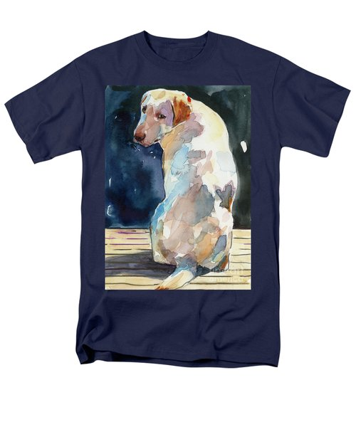 Lucy Moon Men's T-Shirt  (Regular Fit) by Molly Poole