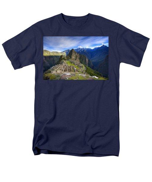 Machu Picchu Men's T-Shirt  (Regular Fit) by Alexey Stiop