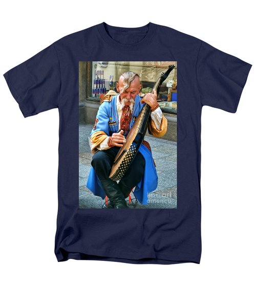 Men's T-Shirt  (Regular Fit) featuring the photograph Making A Living by Mariola Bitner