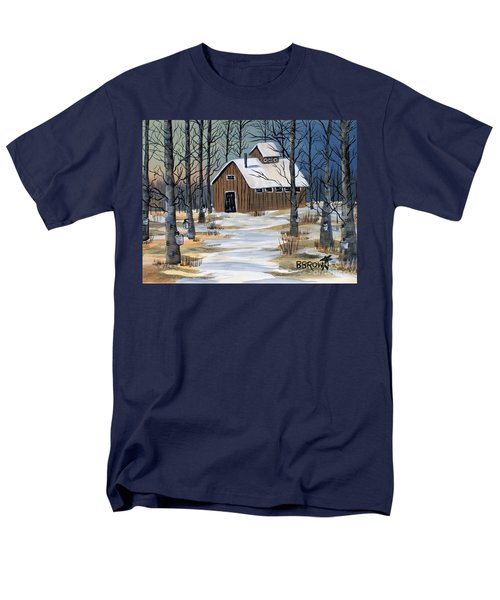Maple Syrup Shack Men's T-Shirt  (Regular Fit) by Brenda Brown