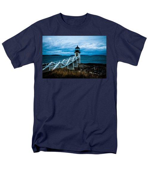 Marshall Point Light At Dusk 2 Men's T-Shirt  (Regular Fit)
