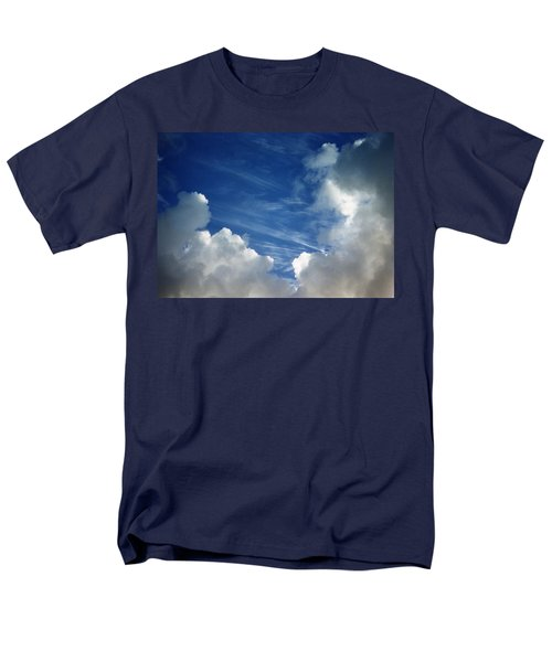 Men's T-Shirt  (Regular Fit) featuring the photograph Maui Clouds by Evelyn Tambour