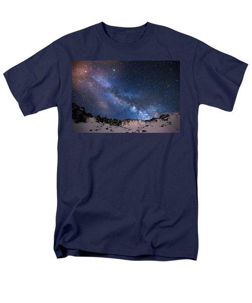 Mayflower Gulch Milky Way Men's T-Shirt  (Regular Fit) by Darren  White