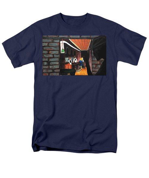 Midnight At Dylan's Men's T-Shirt  (Regular Fit) by Lisa Brandel