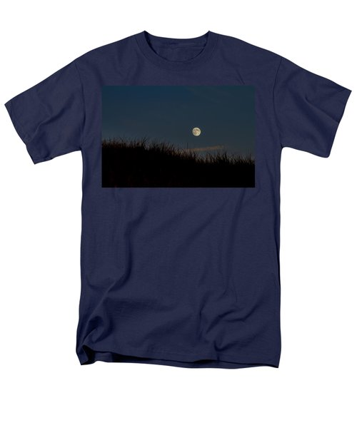 Moon Over The Dunes Men's T-Shirt  (Regular Fit) by Brian Caldwell