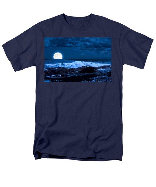 Moonlight Sail Men's T-Shirt  (Regular Fit) by Fred Larson