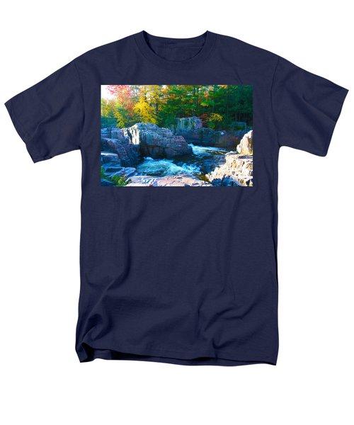 Morning In Eau Claire Dells Men's T-Shirt  (Regular Fit) by Tiffany Erdman