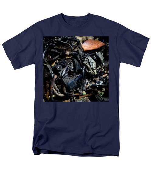 Men's T-Shirt  (Regular Fit) featuring the photograph Motorbike by Edgar Laureano