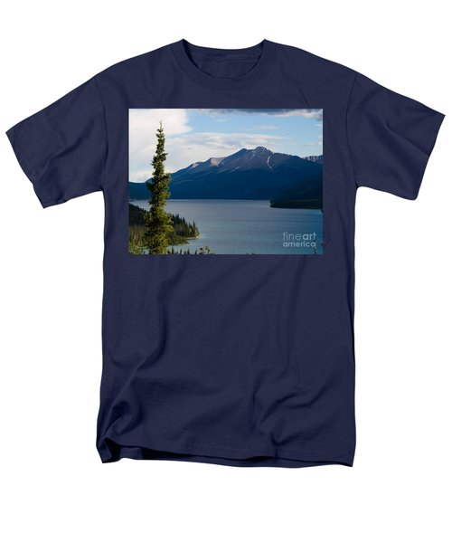 Muncho Lake Men's T-Shirt  (Regular Fit) by Tara Lynn