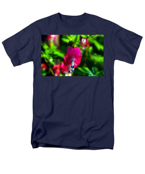 Men's T-Shirt  (Regular Fit) featuring the photograph My Bleeding Heart by Peggy Franz