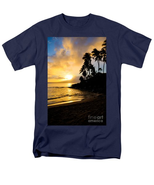 Men's T-Shirt  (Regular Fit) featuring the photograph Napili Sunset Evening  by Kelly Wade