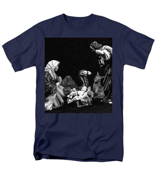 Men's T-Shirt  (Regular Fit) featuring the photograph Nativity  by Elf Evans