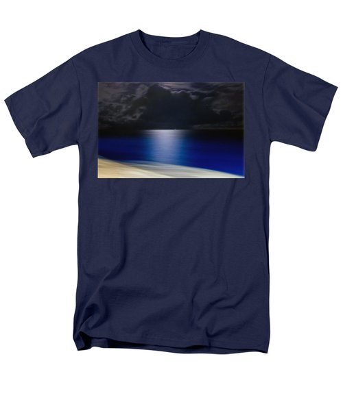 Night And Water Men's T-Shirt  (Regular Fit)