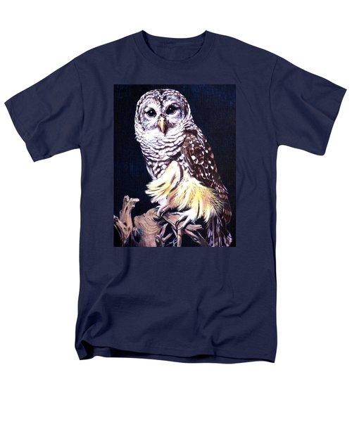 Night Owl Men's T-Shirt  (Regular Fit) by Vivien Rhyan