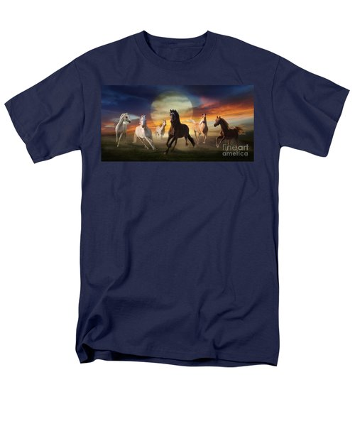 Night Play Men's T-Shirt  (Regular Fit)