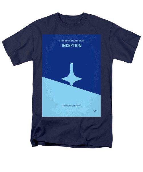 No240 My Inception Minimal Movie Poster Men's T-Shirt  (Regular Fit)