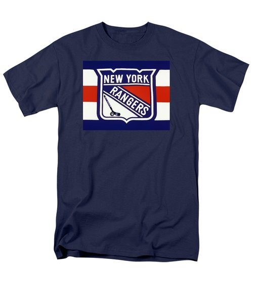 Men's T-Shirt  (Regular Fit) featuring the photograph Ny Rangers-7 by Nina Bradica