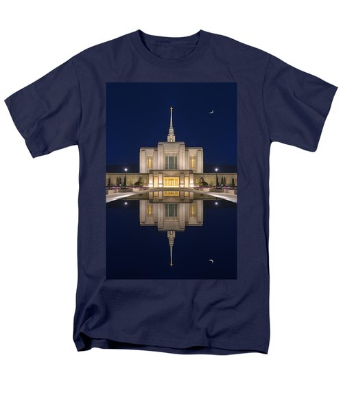 Ogden Temple Reflection Men's T-Shirt  (Regular Fit) by Dustin  LeFevre