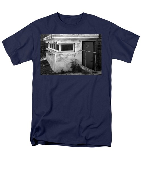 Men's T-Shirt  (Regular Fit) featuring the photograph Old Army Lookout by Miroslava Jurcik