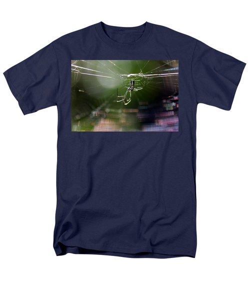 Men's T-Shirt  (Regular Fit) featuring the photograph Orchard Web by Greg Allore