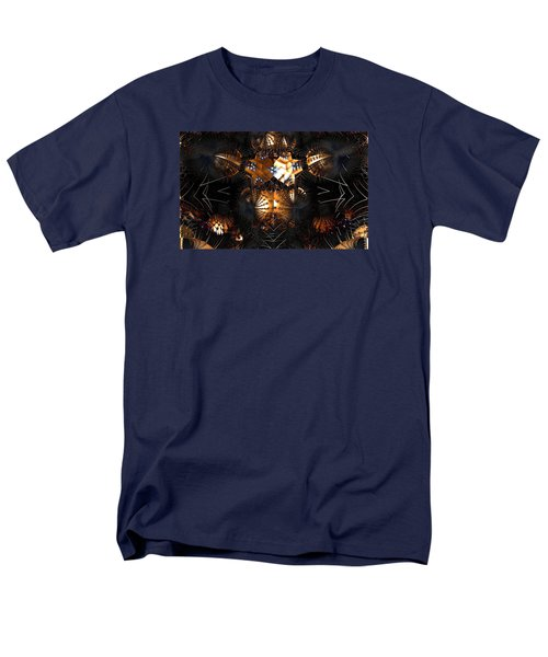 Men's T-Shirt  (Regular Fit) featuring the digital art Paths Of Pain by Jeff Iverson