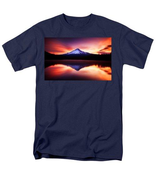 Peaceful Morning On The Lake Men's T-Shirt  (Regular Fit) by Darren  White