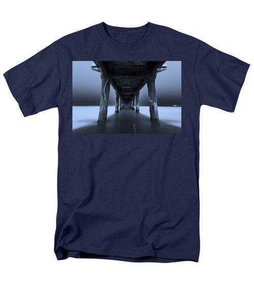 Men's T-Shirt  (Regular Fit) featuring the photograph Peaceful Pacific by Mihai Andritoiu