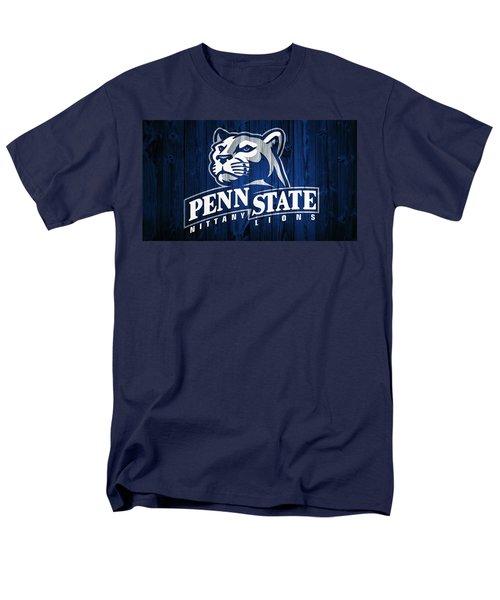 Penn State Barn Door Men's T-Shirt  (Regular Fit) by Dan Sproul
