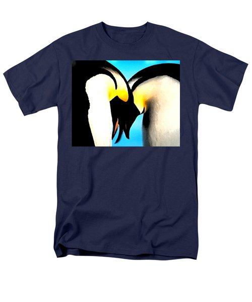 Penquin Love Dance Men's T-Shirt  (Regular Fit) by Colette V Hera  Guggenheim