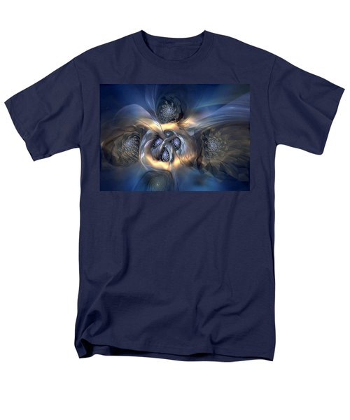 Men's T-Shirt  (Regular Fit) featuring the digital art Pleasant Effusion by Casey Kotas