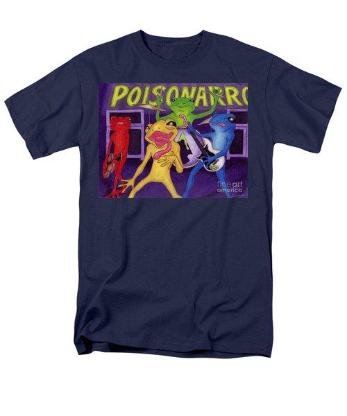 Poison-arrow Frog Band Men's T-Shirt  (Regular Fit) by Samantha Geernaert