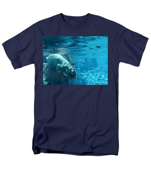 Polar Bear Men's T-Shirt  (Regular Fit) by Steve Karol