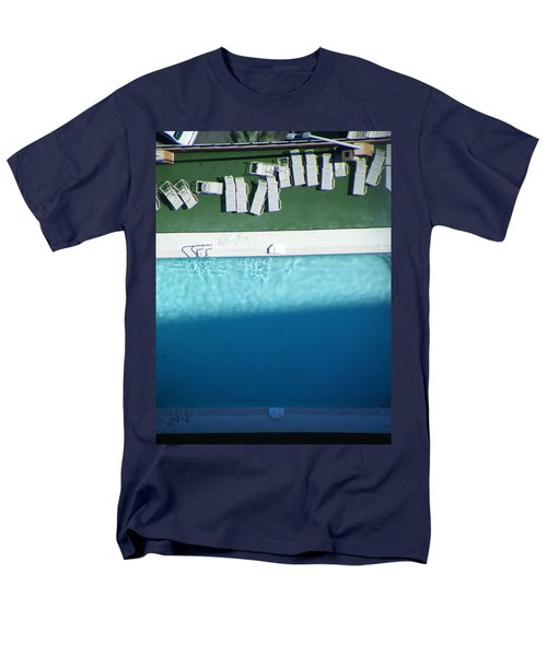 Poolside Upside Men's T-Shirt  (Regular Fit) by Brian Boyle