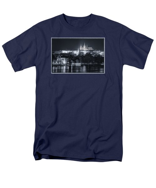Prague Castle At Night Men's T-Shirt  (Regular Fit)