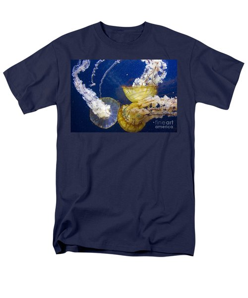 Putting Our Heads Together Men's T-Shirt  (Regular Fit) by Kate Brown