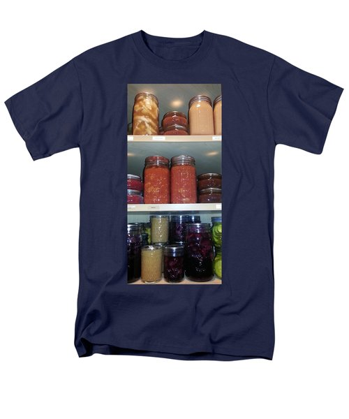 Men's T-Shirt  (Regular Fit) featuring the photograph Ready For Winter by Caryl J Bohn