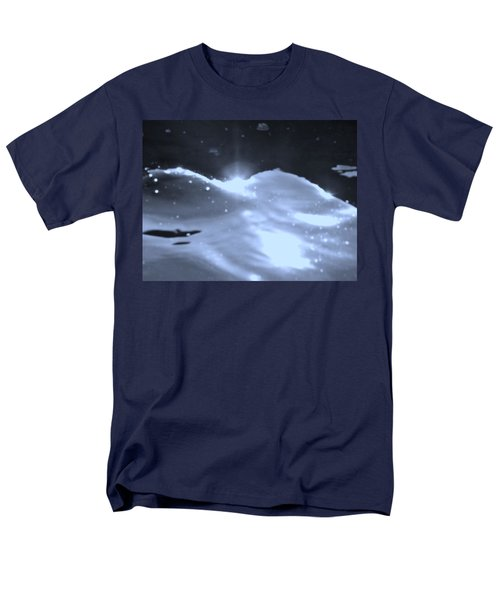 Men's T-Shirt  (Regular Fit) featuring the photograph  Moon Sunset by Deborah Moen