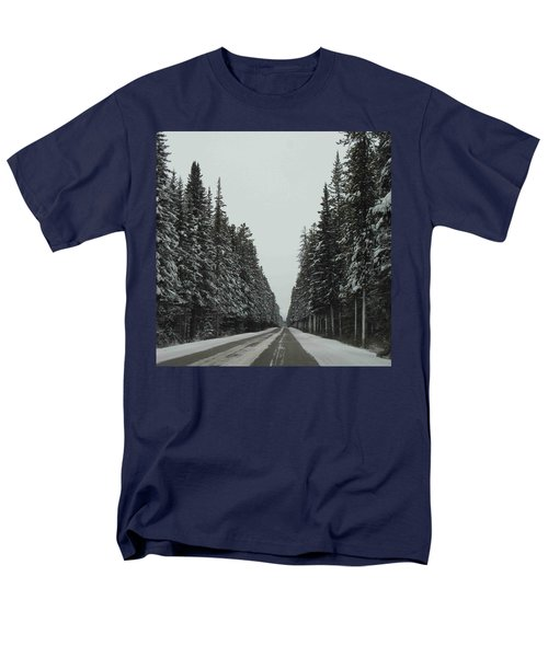 Road To Banff Men's T-Shirt  (Regular Fit) by Cheryl Miller