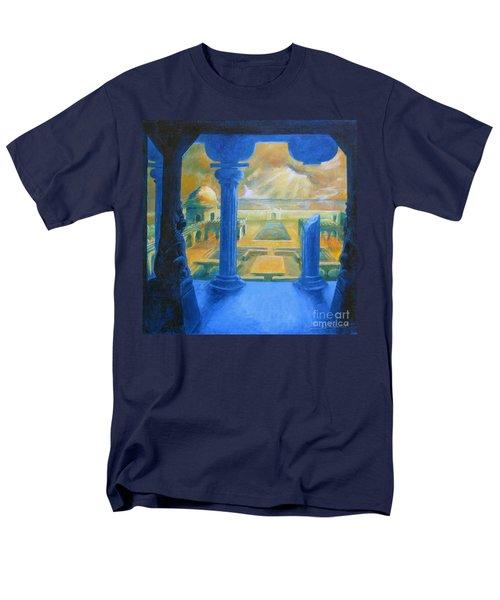 Ruins Of Lankapura Men's T-Shirt  (Regular Fit) by Samantha Geernaert