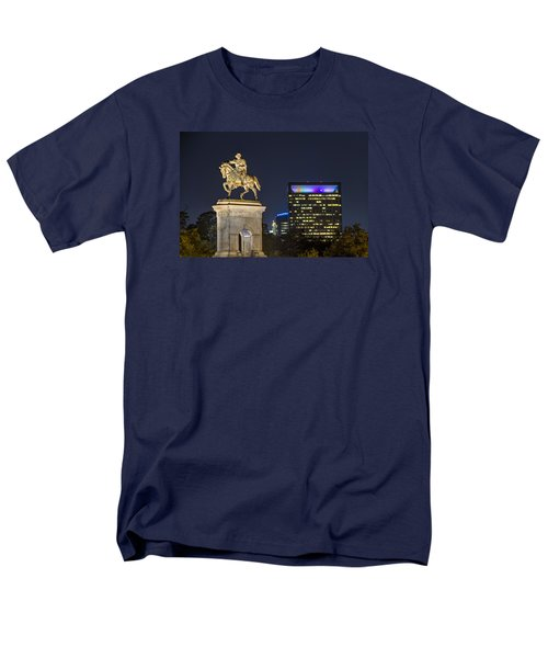 Sam Houston At Night Men's T-Shirt  (Regular Fit) by Tim Stanley