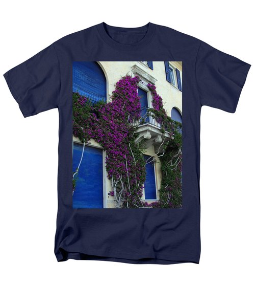 Men's T-Shirt  (Regular Fit) featuring the photograph Scaling The Wall by Natalie Ortiz